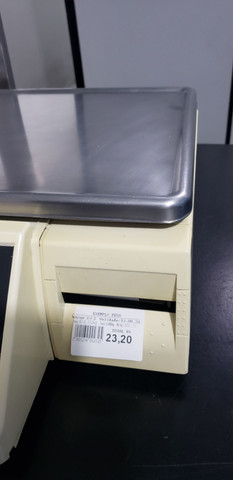 Balança Platina com etiquetas Filizola versão cadastro manual e RS 232 serial - Foto 2
