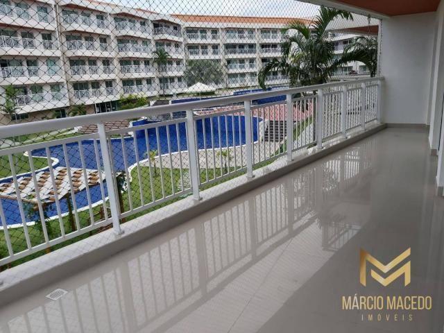 Apartamento com 3 quartos à venda por R$ 460.000 - Porto das Dunas - Aquiraz/CE