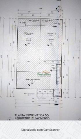 Sala para alugar, 150 m² por R$ 2.500,00/mês - Morada de Laranjeiras - Serra/ES - Foto 10