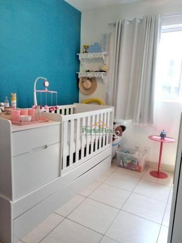 Apartamento com 2 dormitórios à venda, 62 m² por R$ 240.000,00 - Valparaíso - Serra/ES - Foto 13