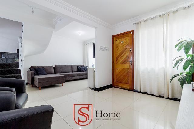 Sobrado triplex 3 quartos e 2 vagas para aluguel no Boqueirão em Curitiba - Foto 3