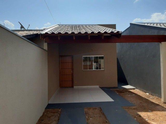 Linda Casa Nova Campo Grande com 3 Quartos No Asfalto - Foto 11