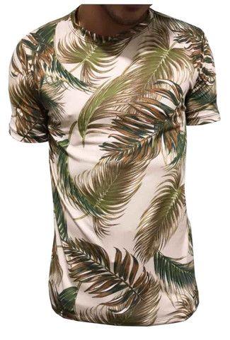 Kit 60 camiseta floral adulta - Foto 3