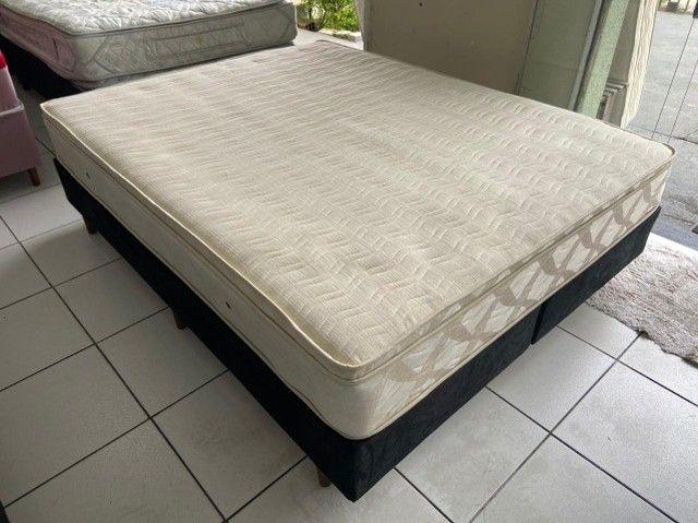 cama box queen size - Maxflex - entregamos