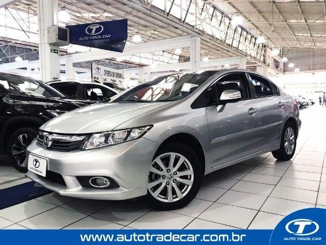 Honda Civic LXS 1.8 Aut 2014 - Foto 2