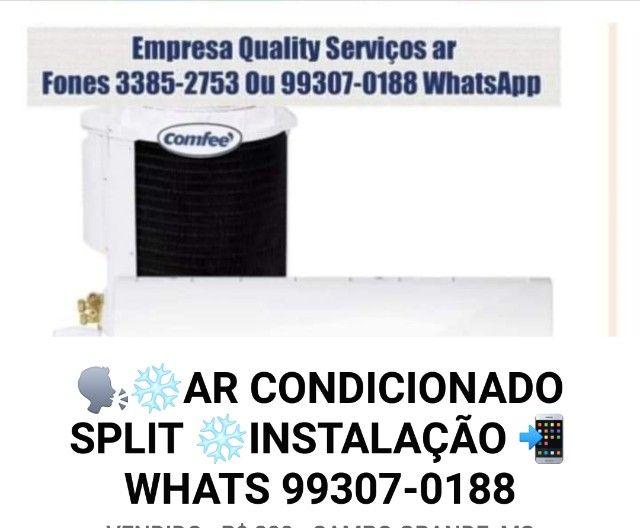 instalação de ar condicionado Split em Promoção ! agende via whats 99307.0188   - Foto 2