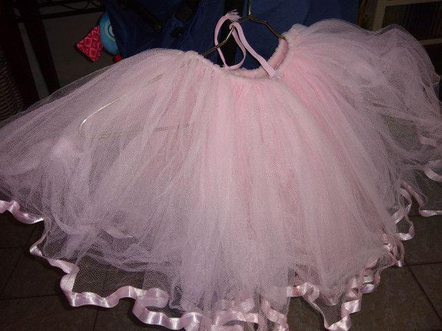 Tutu de ballet, tamanho 4 a 6 anos - Foto 3