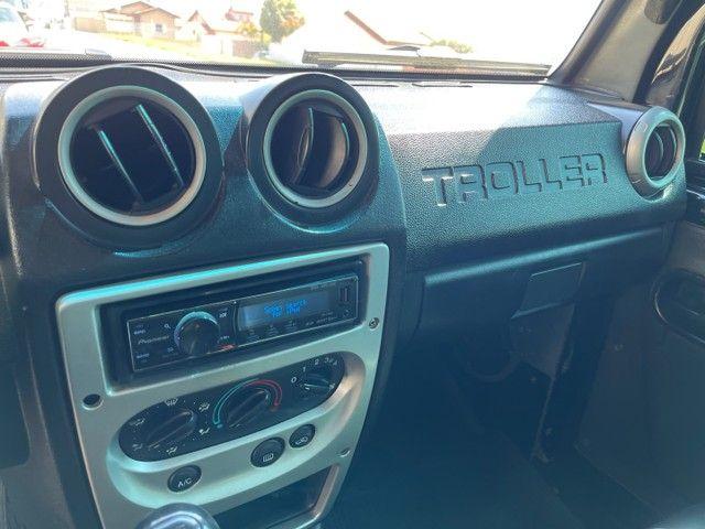 Troller 3.0 Turbo diesel 4x4 ano 2009 / Conservado original aceito trocas financio 60x - Foto 13