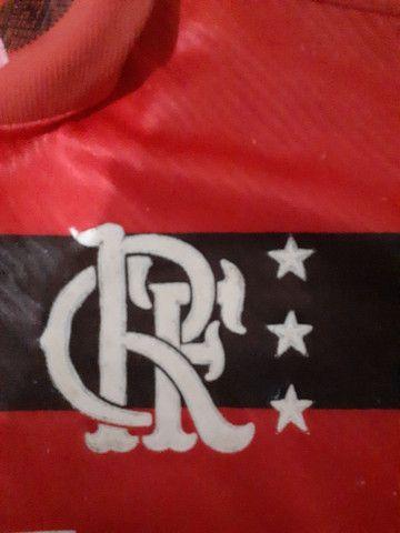 Flamengo antiga da Umbro só para venda tamanho P - Foto 4