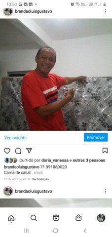 Cama casal R$ 285.00 com garantia ou cama solteiro R$ 185,90