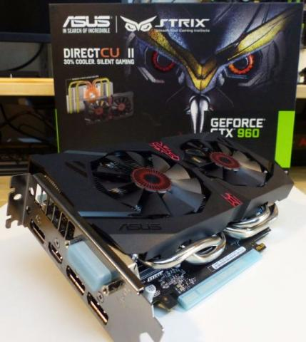 GTX 960 4gb Asus Strix