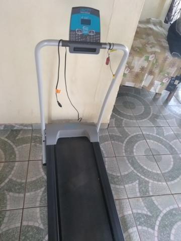 Esteira elétrica bom e fitness