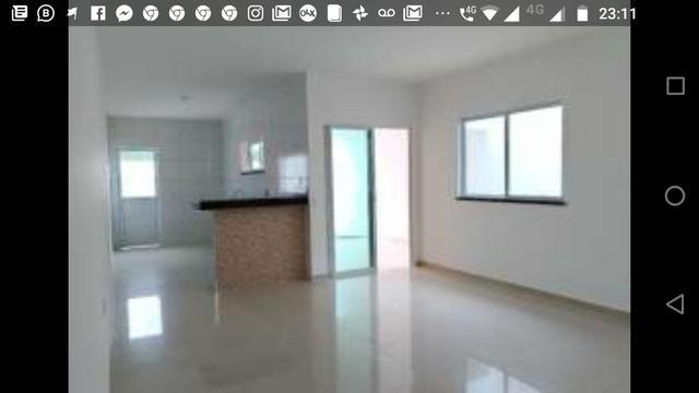 Casas planas 3 quartos 2 suítes, próximo do shopping open mall - Foto 4