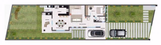 Casa com 4 dormitórios à venda, 152 m² por R$ 569.000,00 - Eusébio - Eusébio/CE - Foto 5