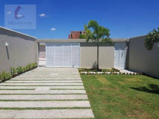 Casa com 4 dormitórios à venda, 152 m² por R$ 569.000,00 - Eusébio - Eusébio/CE - Foto 2