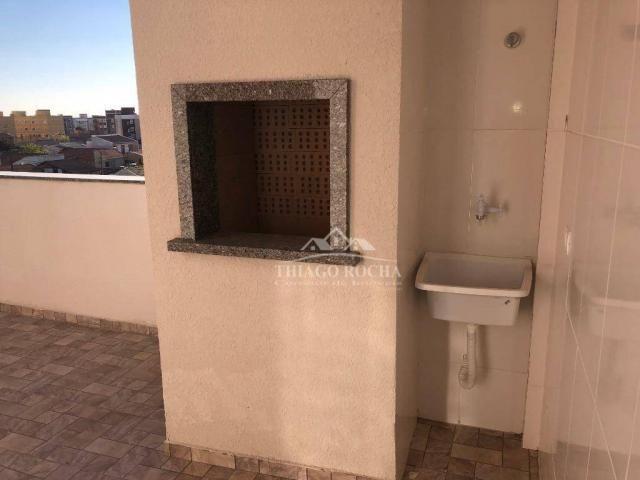 Apartamento terraço, 2 quartos, churrasqueira- afonso pena - Foto 5