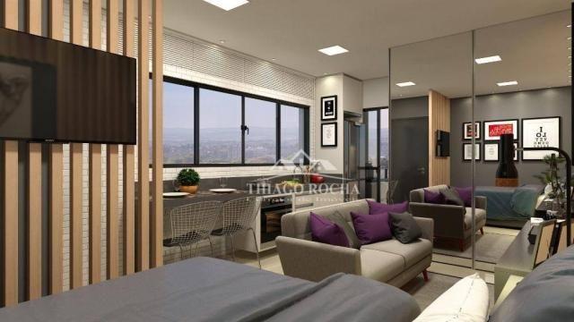 Studio com 1 dormitório à venda, 30 m² por r$ 140.900 - são pedro - são josé dos pinhais/p - Foto 6