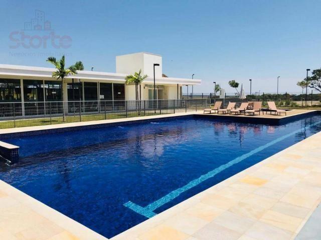Terreno à venda, 466 m² por r$ 337.000 - granja marileusa - alphaville 1 - uberlândia/mg - Foto 3