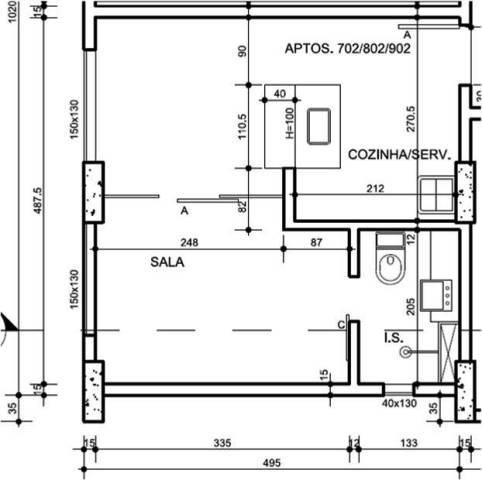 Apartamento à venda, 1 quarto, buritis - belo horizonte/mg - Foto 2