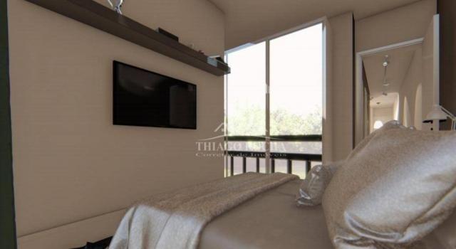Apartamento garden com 15,45 m² para o seu pet, 2 quartos, churrasqueira e garagem coberta - Foto 6