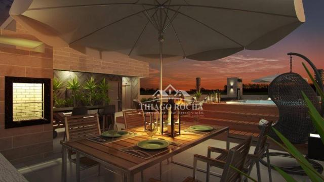 Studio com 1 dormitório à venda, 30 m² por r$ 140.900 - são pedro - são josé dos pinhais/p - Foto 19