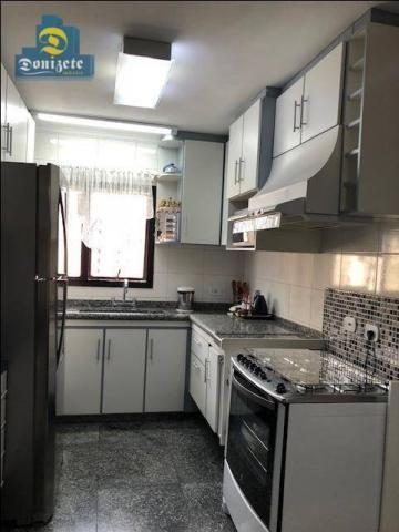 Apartamento com 3 dormitórios à venda, 150 m² por r$ 550.000,01 - vila bastos - santo andr - Foto 18