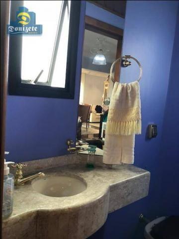 Apartamento com 3 dormitórios à venda, 150 m² por r$ 550.000,01 - vila bastos - santo andr - Foto 11