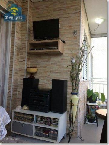 Apartamento com 3 dormitórios à venda, 89 m² por r$ 590.000,10 - cerâmica - são caetano do - Foto 9