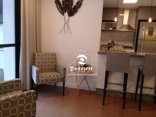 Apartamento à venda, 81 m² por r$ 515.000,00 - jardim - santo andré/sp - Foto 3