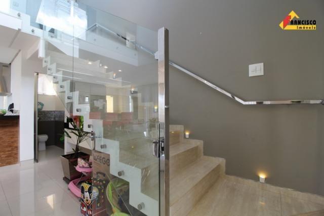 Casa residencial à venda, 4 quartos, 4 vagas, condomínio ville royale - divinópolis/mg - Foto 16