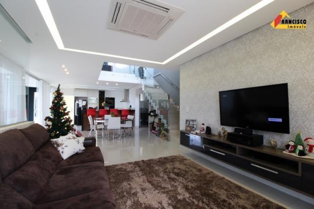 Casa residencial à venda, 4 quartos, 4 vagas, condomínio ville royale - divinópolis/mg