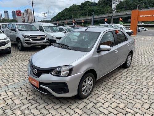 TOYOTA ETIOS 2018/2019 1.5 X SEDAN 16V FLEX 4P MANUAL - Foto 2