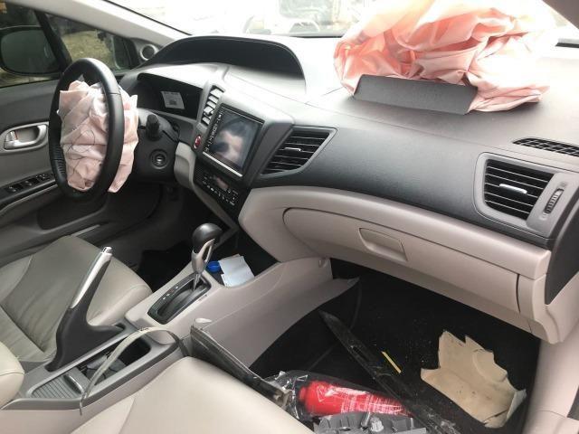Sucata Honda Civic EXR 2.0 i-VTEC (Aut) (Flex) 2015/2016 para Retirada de Peças - Foto 3