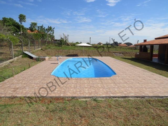 REF 225 Chácara 1187 m², casa novinha, ampla piscina, Imobiliária Paletó - Foto 18