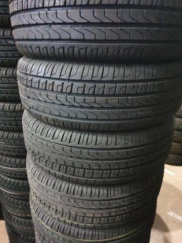 4 pneus 195/55/16 novo remold gp premium - Foto 2