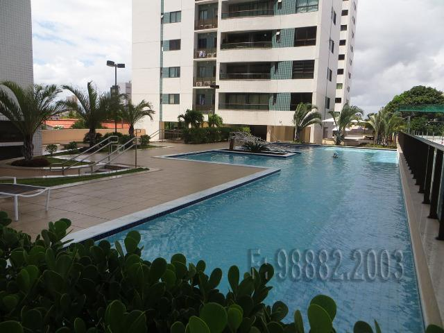 Apartamento 105m, 3/4, 2 vagas, andar alto, Capim Macio, Natal, RN - Foto 15