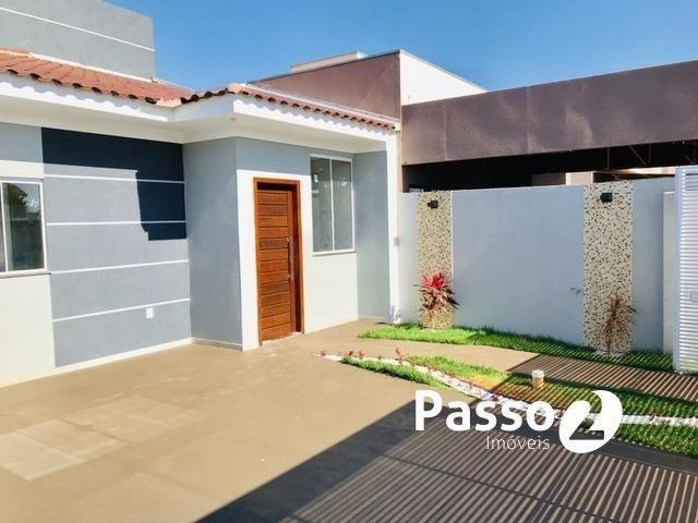Casa nova com laje e 03 quartos - Foto 2