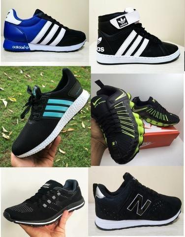 aebc0646d5b59 Tenis Masculino Nike Adidas Fila Asics Mizuno - Entrega Grátis - Leia o  Anúncio - Foto