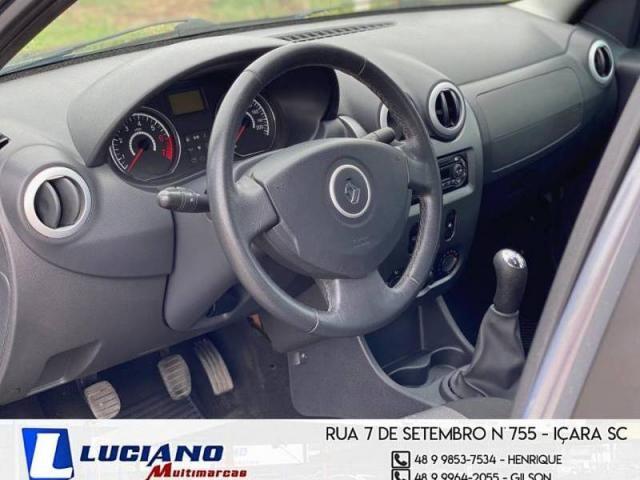 Renault LOGAN Expression Hi-Flex 1.6  - Foto 12