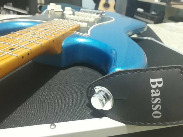 Strap Lock, trava para correia de Guitarra, Baixo,.Violão etc - Foto 2