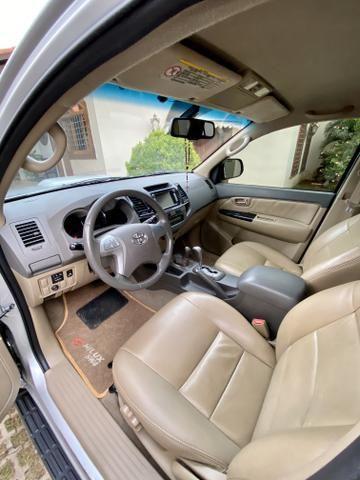 Hilux SW4 3.0 aut 4x4 diesel 2012 abaixo da fipe!! - Foto 7