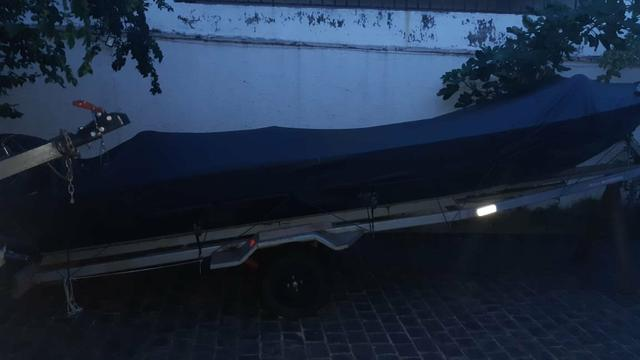 Barco com motor 25 - Foto 2