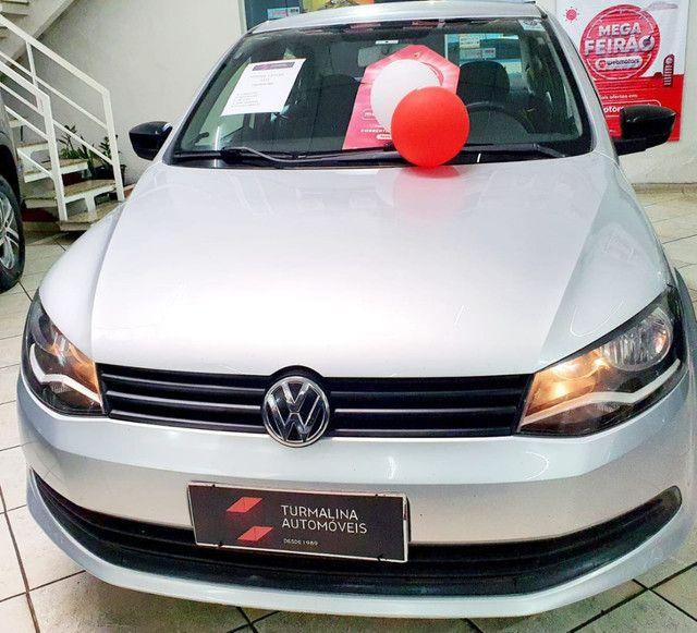 Volkswagen Voyage 1.0 trendline completo,2015,oportunidade!!! - Foto 9