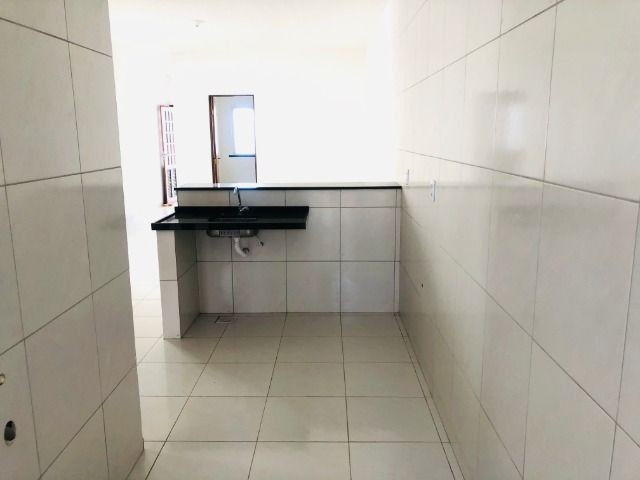 WS casa nova com 2 quartos,2 banheiros,varandao,coz.americana,quintal - Foto 4