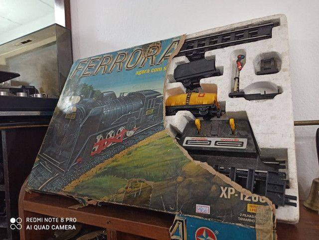 Ferrorama Antigo Estrela Xp1200 brinquedo antiguidade - Foto 3