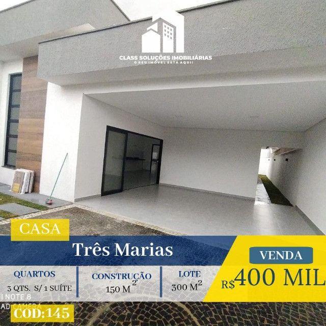 Casa de 3 Quartos - Setor Tres Marias - Goiânia