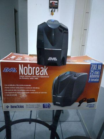 Nobreak 700 VA novo - Foto 2