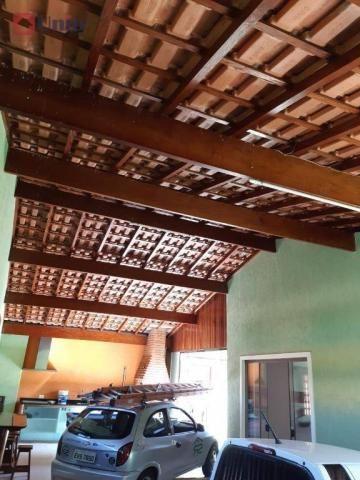 Casa com 3 dormitórios à venda, 220 m² por R$ 405.000 - Conjunto Residencial Mário Dedini  - Foto 17