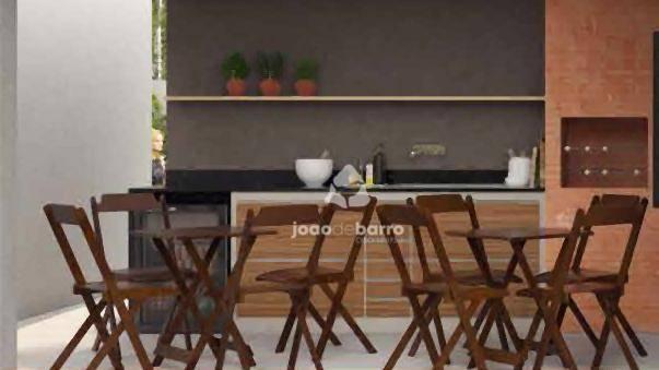 Apartamento com 2 dormitórios à venda, 46 m² por R$ 159.990 - Tijuca - Campo Grande/MS - Foto 12