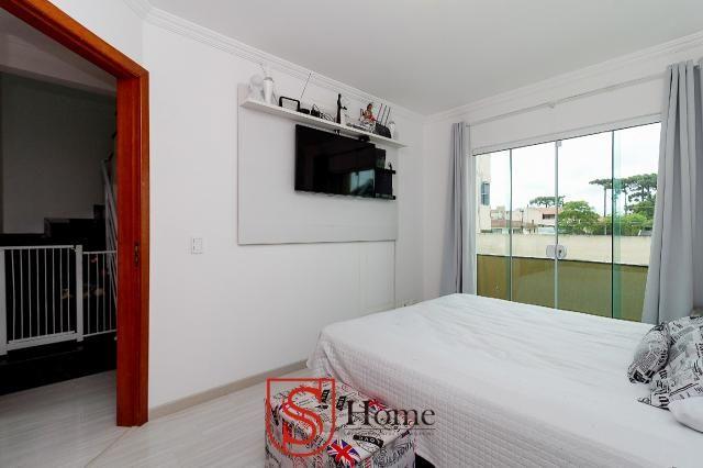 Sobrado triplex 3 quartos e 2 vagas para aluguel no Boqueirão em Curitiba - Foto 14